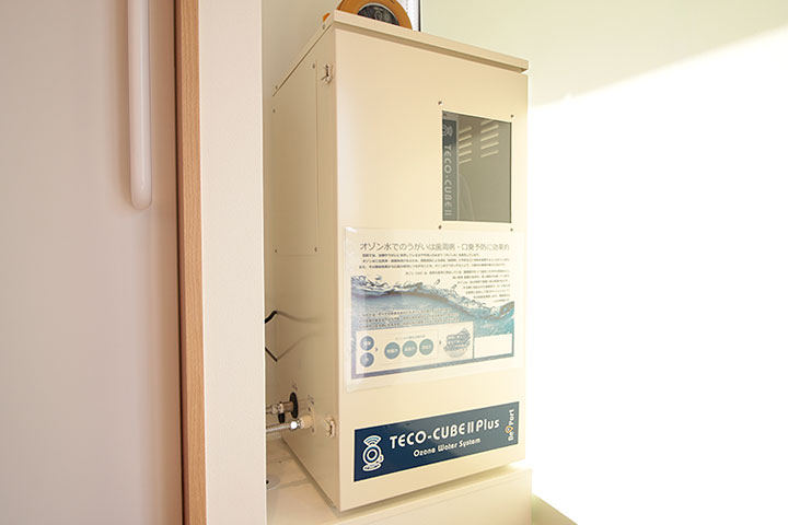 オゾン水発生装置「CUBE-2 PLUS」